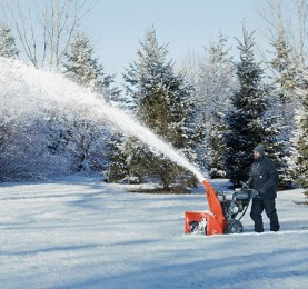 Electronic Fuel Injection for Snow Throwers